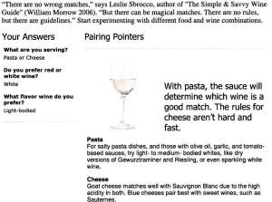 Real Simple Wine Pairings